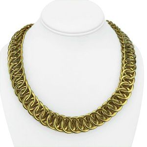 Jewelry - 14k Italian Yellow Gold 83g Polished Necklace 20""